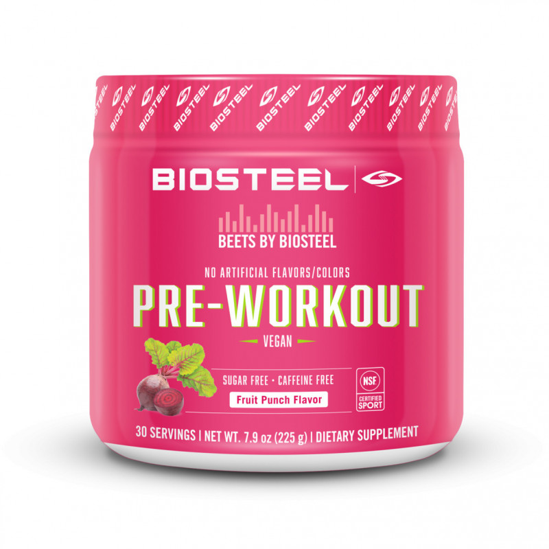 BioSteel Beets By Biosteel Pre-Workout / Fruit Punch 225g